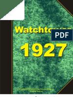 Watchtower 1927