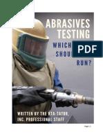 Abrasives eBook - Laboratory - Final Copy