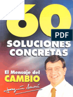 60 soluciones concretas Lavín