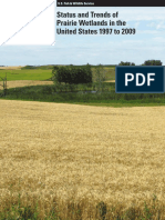 Status and Trends of Prairie Wetlands in the United States 1997 to 2009