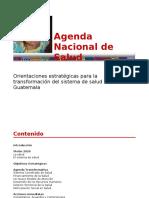 Agenda Nacional de Salud 2007 Mar 011