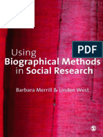 Using biographical methods in social research