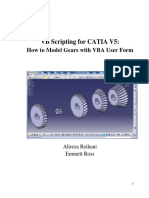 How to Model Gears With VBA User Form Tutorial v1.1