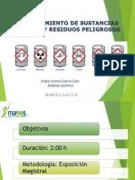 Capacitacion Almacenamiento Sustancias Quimicas