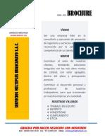 Brochure Huancamayo