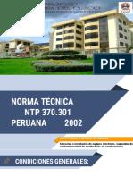 Norma Técnica NTP 370.301