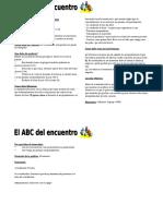 ABC DEL ENCUENTRO