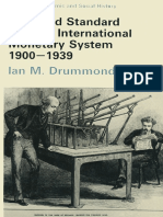 DRUMMOND, M. Ian. the Gold Standard and the International Monetary System, 1900–1939