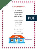 Poema a Mi Querido Colegio