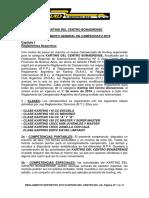 Reglamento Deportivo KDC