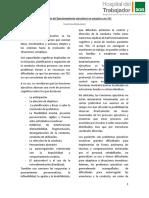 Intervención de Funciones Ejecutivas en Usuarios Con TEC
