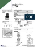 AP100 Válvula de Alivio