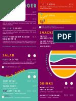 PLNT menu