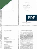 ONG_La Escritura Reestructura La Conciencia