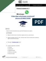 Redaccion Científica y Académica PA2 Enunciado