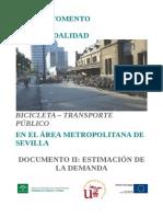 MODELACION DE DEMANDA DE TRANSPORTE
