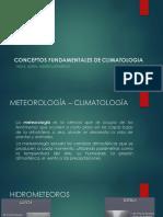 fundamentos a la climatologia