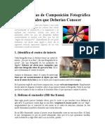 20-05-09 Las 13 Reglas de Composición Fotográfica Fundamentales Que Deberías Conocer