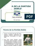 Teoría de La Partida Doble.