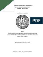Uso de Refracción Sísmica y MASW para la determinación de módulos elásticos