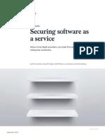 Securing SAAS