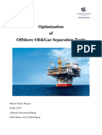 Oil and gas separator optimization