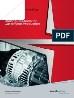 Brazing Solutions for Car Engine Production