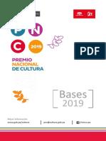 Basees Del Premio Nacional de Cultura