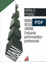 Pitariu Horia - Managementul Resurselor Umane