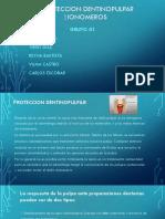 Proteccion dentinopulpar/Ionomeros