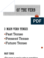 Tenses of the Verb