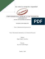 Actividad Nro 08 - Investigación Formativa