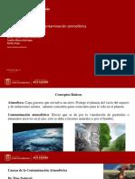 Causas, efectos y soluciones de las contaminación atmosférica