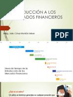 Introducción a Los Mercados Financieros Ppt