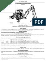 710D Backhoe Loader Introduction