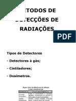 14 - Métodos de Detecções de Radiações
