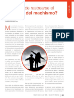 El Machismo por Ana María Merchán