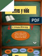 Letras y Vida- Conectores y Autobiografía
