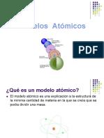 b) Modelos Atómicos