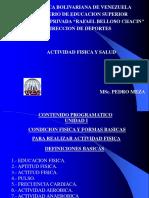 Actividad Fisica y Salud Programa