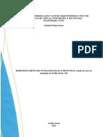 Dimensionamento de Fundações Rasas e Profundas. Estudo de Caso No Município de Teófilo Otoni MG Gabriela Palma Soares