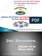 2do Encuentro Mayordomia Biblica.