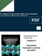 Cap. 9 - Geometría molecular y teorías de enlace ES.pptx