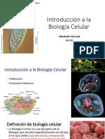 1. Introducción a La Biología Celular