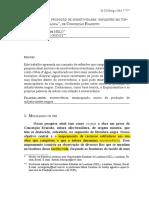 Melo, Enrique e Godoy, Maria Carolina - Escrevivência subjetividadem Olhos D'Água