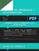 BARRERAS DEL APRENDIZAJE Y ESCOLARIZACIÓN.pptx