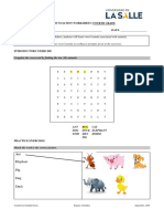 Vowel sounds and animals _ Worksheet Example