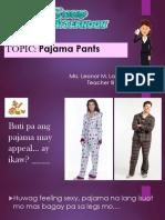 Front Pajamas Pattern