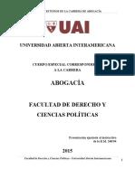 Plan de Estudios J115