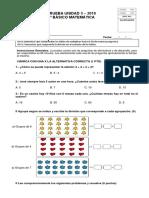 PRUEBA DIVISIONES Y MILTIPLICACIONES 3°